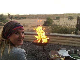 Enjoying the Kgalagadi