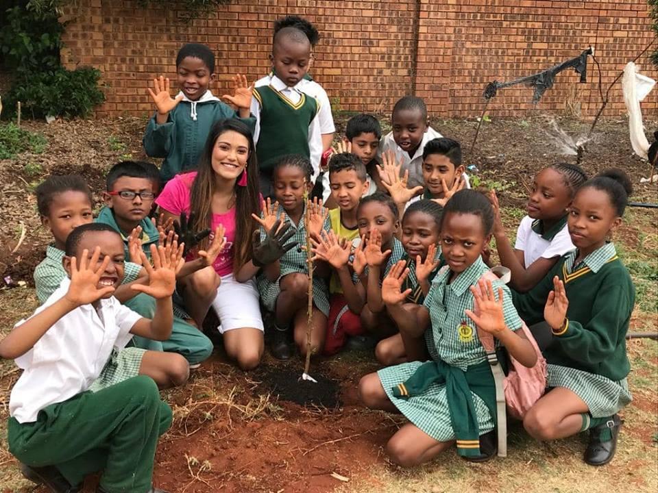 Nazia Planting Trees