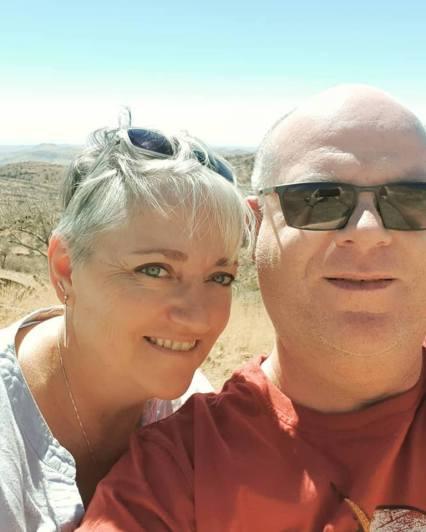 Namibia selfie - Aug2018